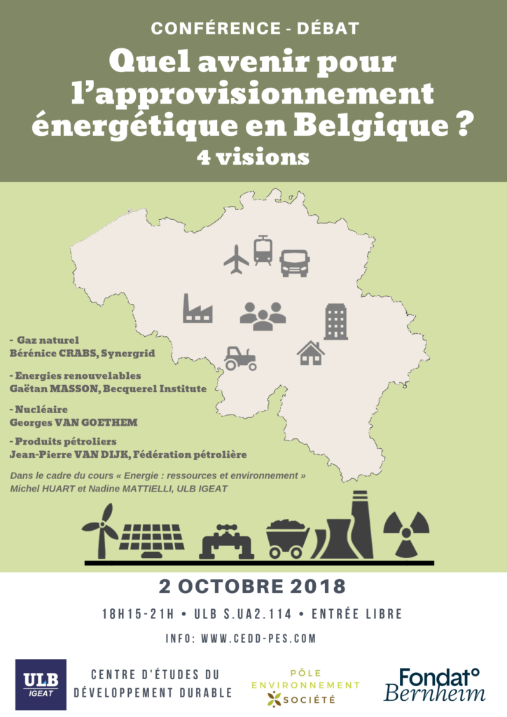 Affiche Conférence Energie 2.10.2018